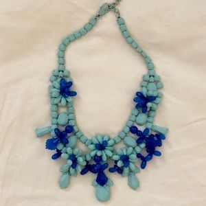 ZARA Aqua /Turquoise Beaded Necklace